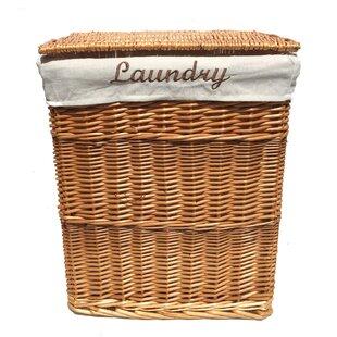 Wicker Laundry Basket By Brambly Cottage