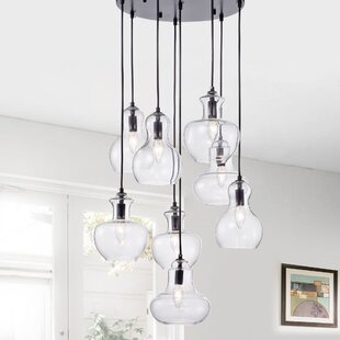Westbrooks 8-Light Cluster Pendant by Gracie Oaks