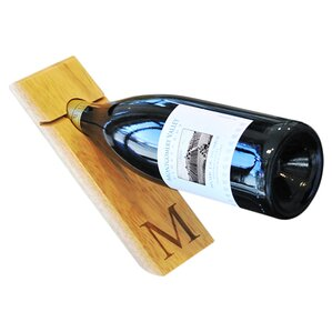 Counter Balance 1 Bottle Tabletop Wine Rack by Cathys Concepts