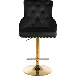 Copper Gold Adjustable Bar Stools You Ll Love In 2021 Wayfair
