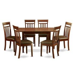 Phoenixville 7 Piece Extendable Dining Set