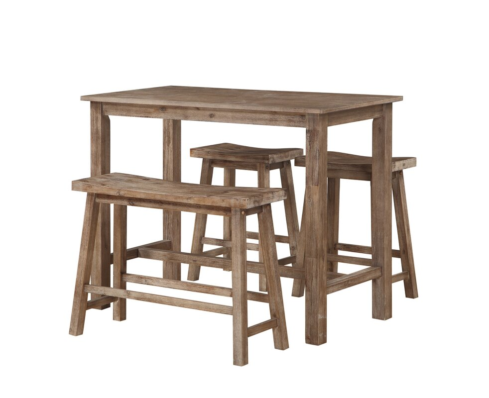 $224.99 Chelsey 4 Piece Bistro Table Set - dealepic