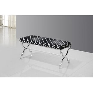 Bethany Upholstered Bench by House of Hampton