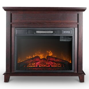Broom Freestanding Electric Fireplace by Winston Porter