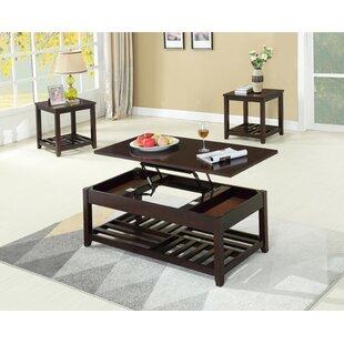 Rockville 3 Piece Coffee Table Set