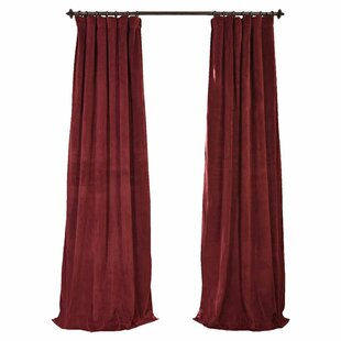 Black Red Curtains Drapes Youll Love