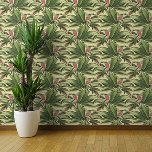 Crossley Palm Tree Removable Peel And Stick Wallpaper Roll