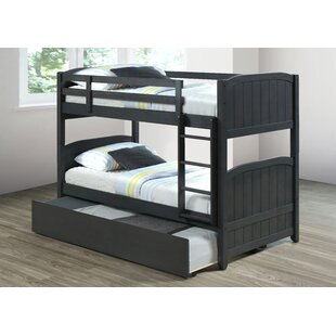 Centerview Twin over Twin Bunk Bed with Trundle