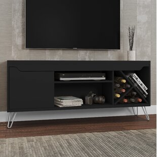 Price comparison Kerby TV Stand for TVs up to 50 by Wrought Studio Reviews (2019) & Buyer's Guide