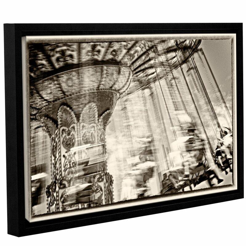 Latitude Run Dizzy Framed Photographic Print Wayfair