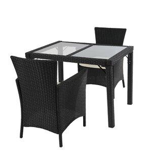 2-Sitzer Sofa-Set Alair aus Polyrattan mit Polst..