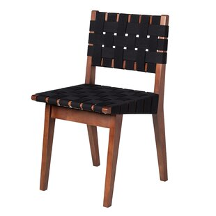Design Tree Home Woven Upholstered Dining Chair