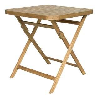 Dunagan Folding Solid Wood Dining Table b..