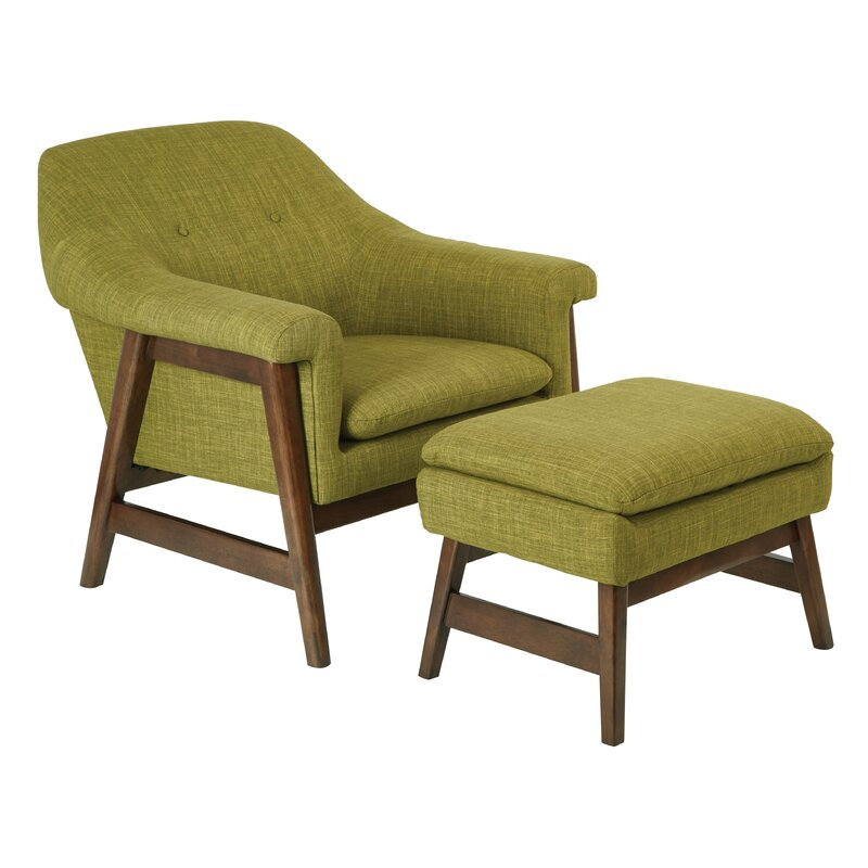 Wondrous Ave Six Flynton Lounge Chair And Ottoman Ibusinesslaw Wood Chair Design Ideas Ibusinesslaworg