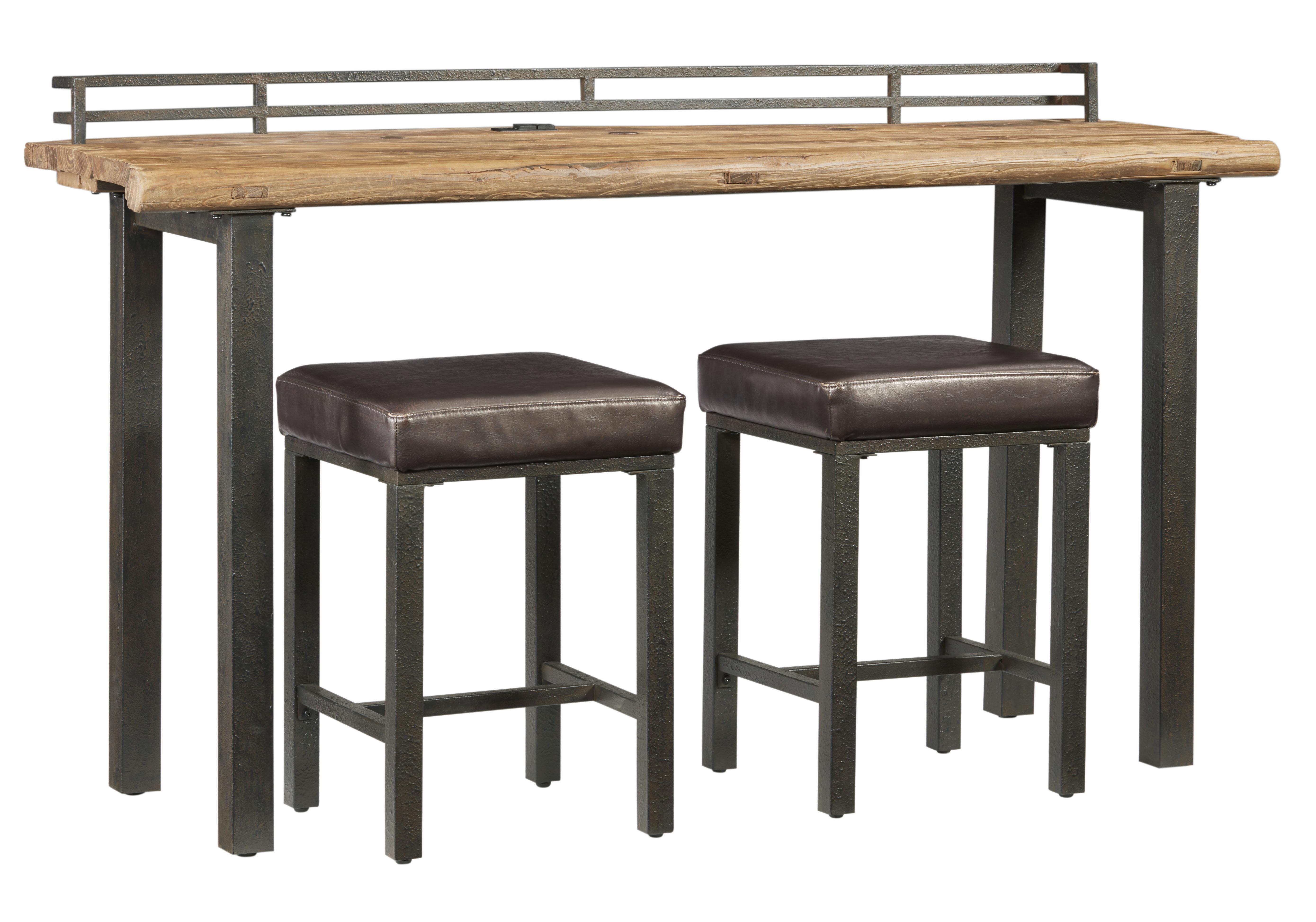 Elmore 3 Piece Pub Table Set