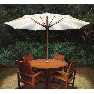 Brella Lights Patio Umbrella Lighting System With Power Pod with 5 Rib