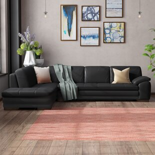 Wade Logan Cassville Leather Sectional