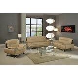 Angelika 3 Piece Standard Living Room Set by Orren Ellis