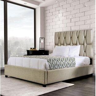 Richland Upholstered Panel Bed by Brayden Studio