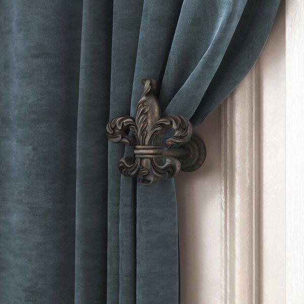 Kelly Clarkson Home Mithchell Fleur De Lis Medallion Curtain Holdback Reviews Wayfair