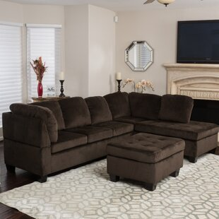 Red Barrel Studio Hardin Sectional with O..