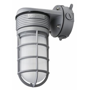 Lithonia Lighting 15-Watt LED Outdoor Security Flood Light