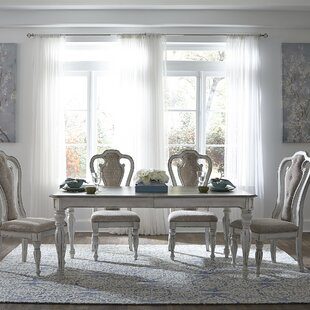 Tiphaine 5 Piece Extendable Dining Set by Lark Manor New