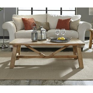 Oubre Pine Wood Coffee Table By Williston Forge