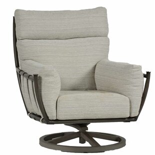 Summer Classics Majorca Swivel Rocking Chair with Cushion