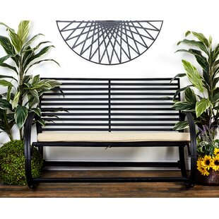 Ebron Metal Garden Bench