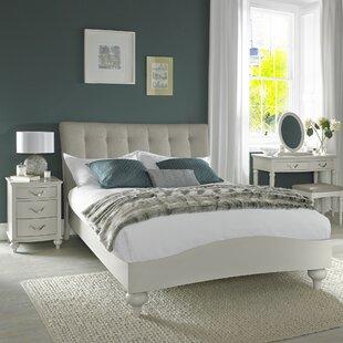 Osvaldo Upholstered Bed Frame By August Grove