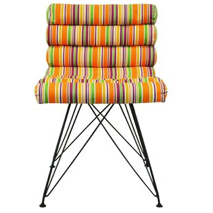 Hakam Stripe Cocktail Chair By Latitude Vive