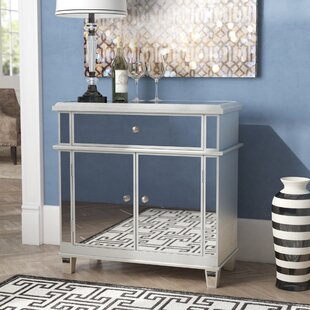 Corby 2 Door Mirrored Accent Cabinet