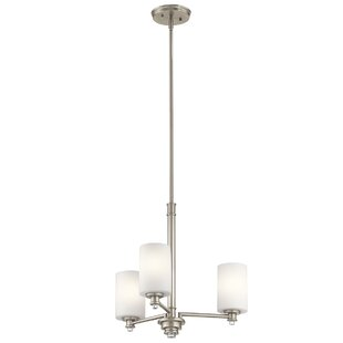 Darby Home Co Bourdeau 3-Light Shaded Chandelier
