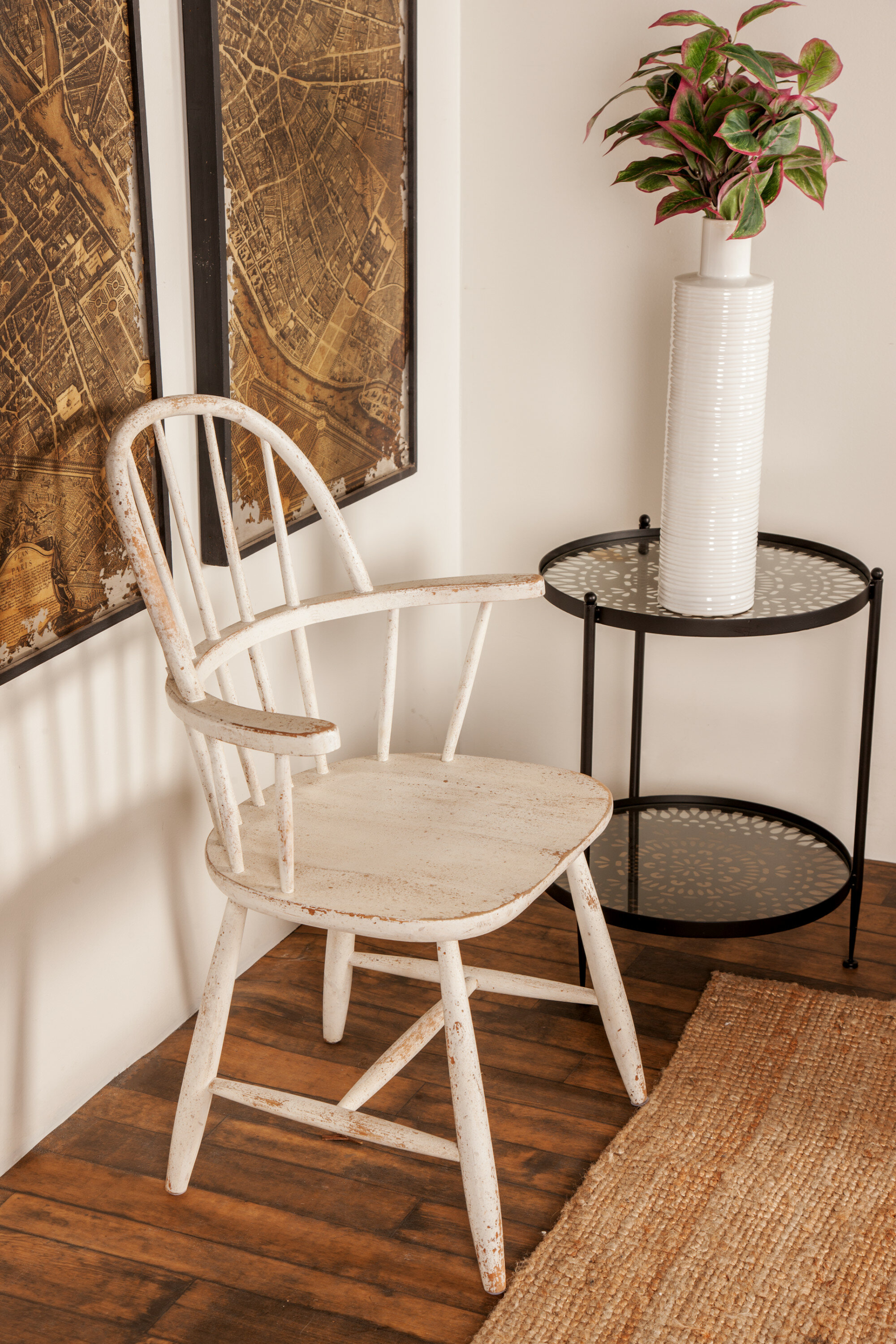 Magnificent Osterley Distressed Solid Wood Dining Chair Gmtry Best Dining Table And Chair Ideas Images Gmtryco