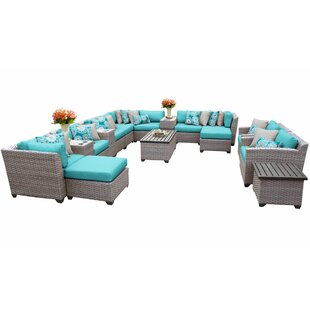 Kenwick 17 Piece Sectional Seating Group with Cushions