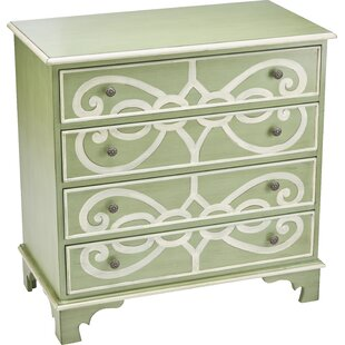 Jacqueline 4 Drawer Chest by Alcott Hill