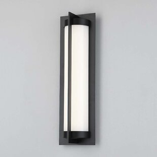 Laffoon 1-Light LED Outdoor Sconce by Winston Porter