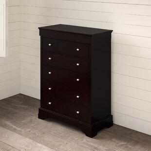 McLelland 5 Drawer Standard Dresser/Chest