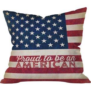 Favorite Vintage American Flag Pillow | Wayfair US79