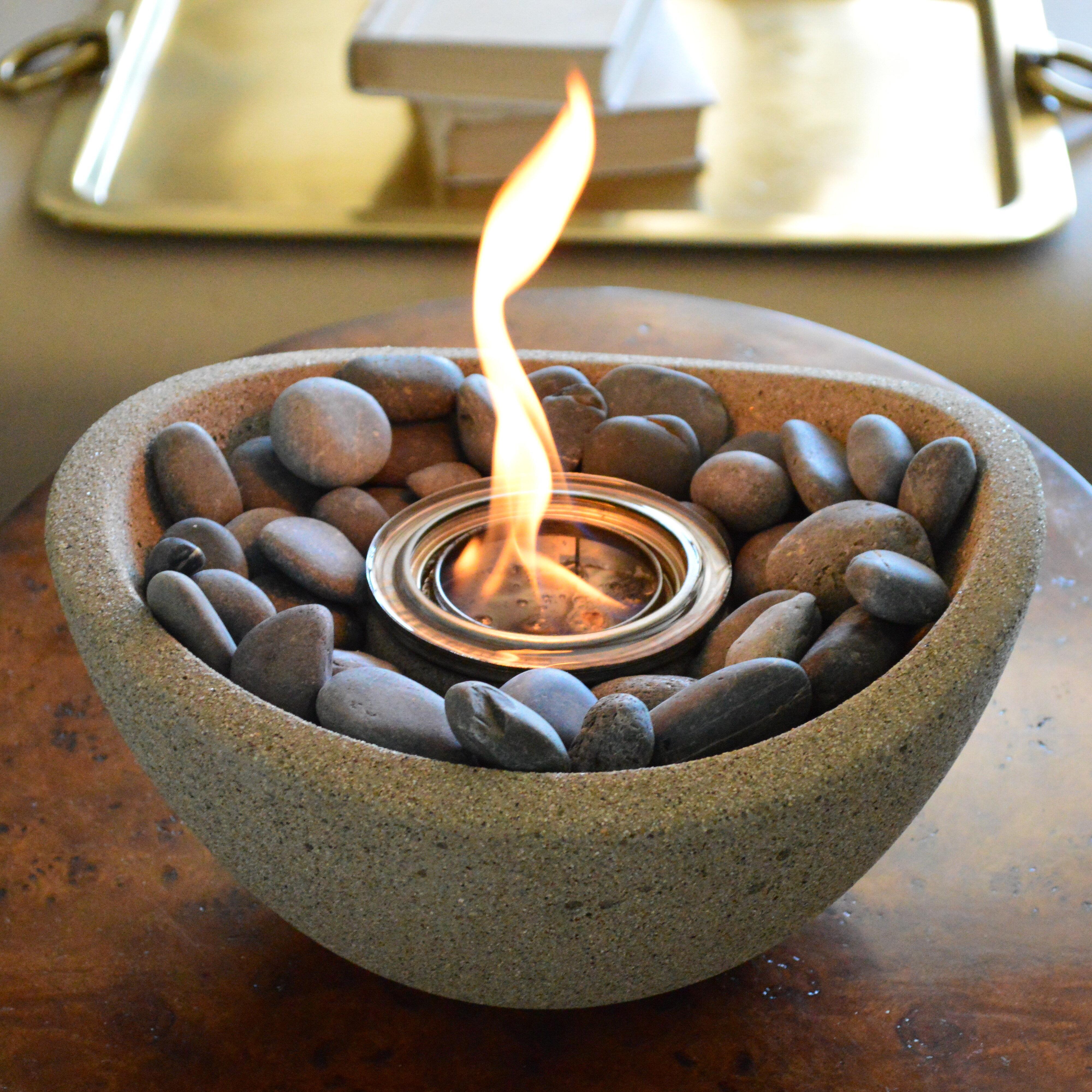 Terra Flame Wave Gel Fuel Tabletop Fireplace Reviews Wayfair