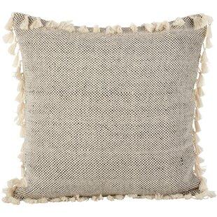 Hartwell Boho Tassel Cotton Throw Pillow