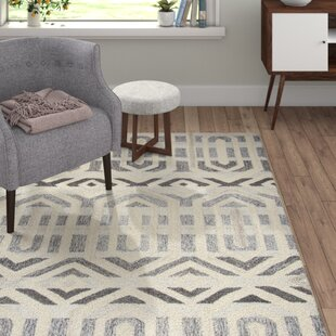 Brayden Hand-Tufted Gray Area Rug by Modern Rustic Interiors
