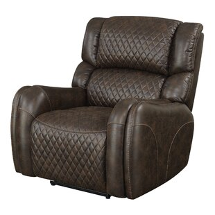 Bargain Widger Quilted Power Recline by Red Barrel Studio