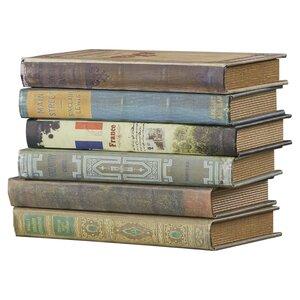 6-tlg. Bücherboxen-Set von ClassicLiving