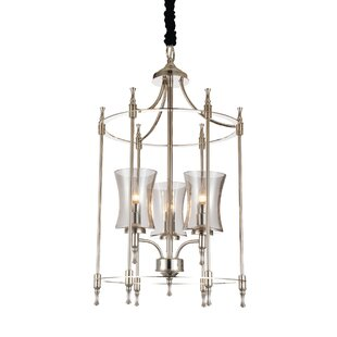 London 3-Light Foyer Pendant By CWI Lighting