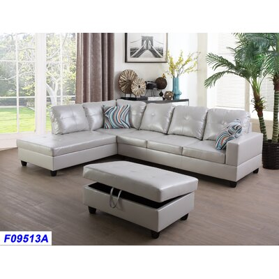 Astonishing Russ Sectional With Ottoman Andover Mills Orientation Left Alphanode Cool Chair Designs And Ideas Alphanodeonline