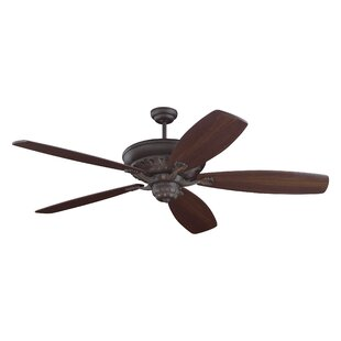 Order 60 Finian Blades Separate Ceiling Fan Motor with Remote By Darby Home Co