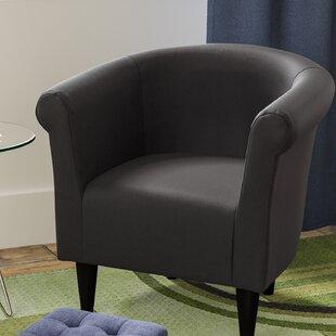 Ebern Designs Cayeman Barrel Chair