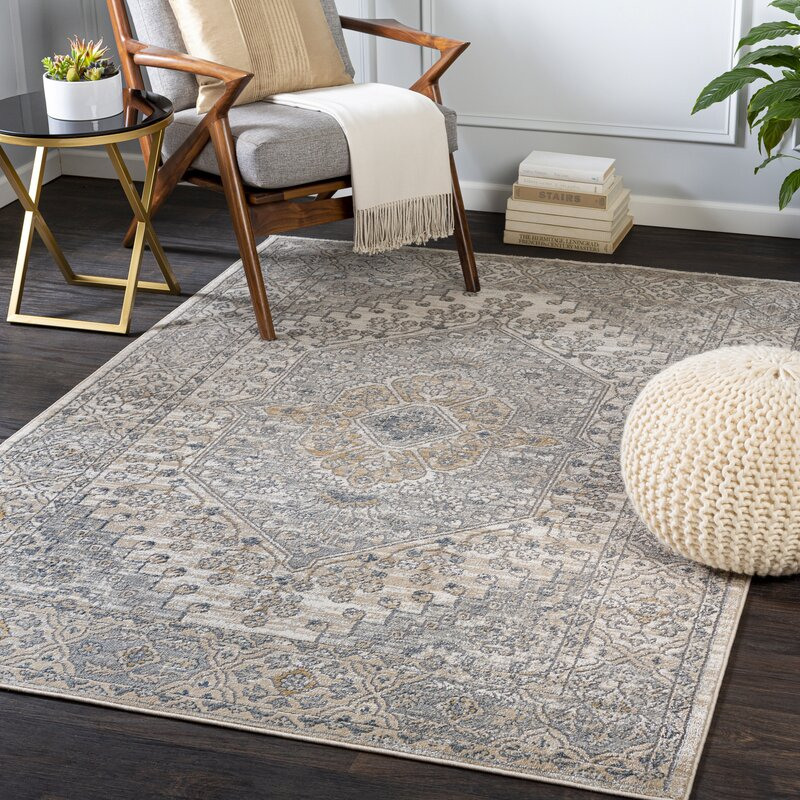 Canora Grey Reza Oriental Ivory Area Rug Reviews Wayfair